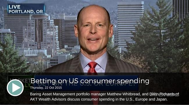 Betting on US consumer spending