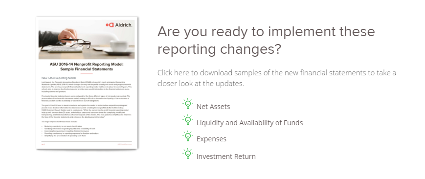 Nonprofit Financial Statements: What You Need to Know About the ...